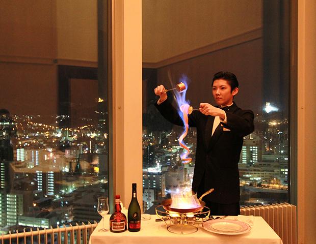 プリンスホテル札幌 料理