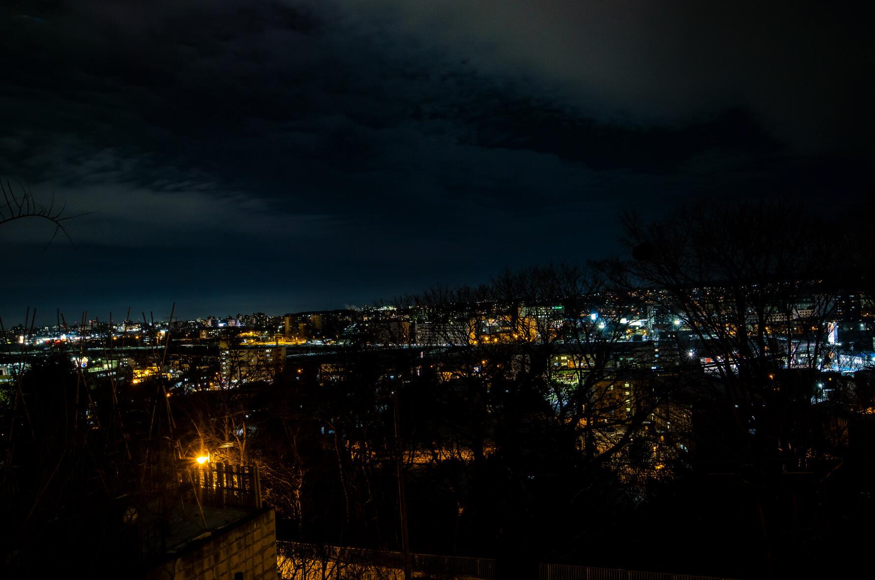 カフェドロマンからの夜景