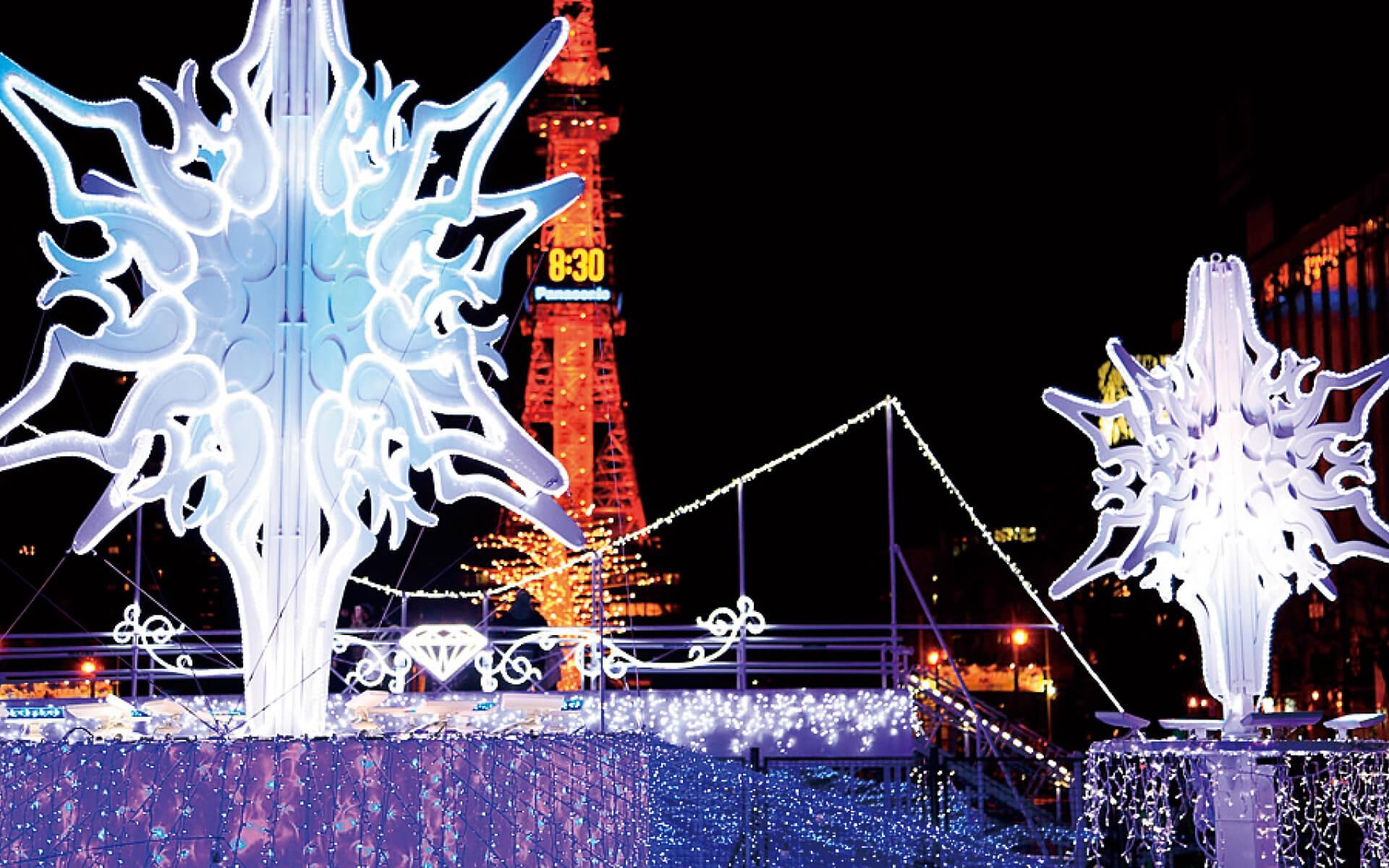 札幌白色燈樹節