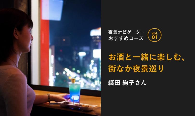 夜景ナビゲーターおすすめコース vol.01